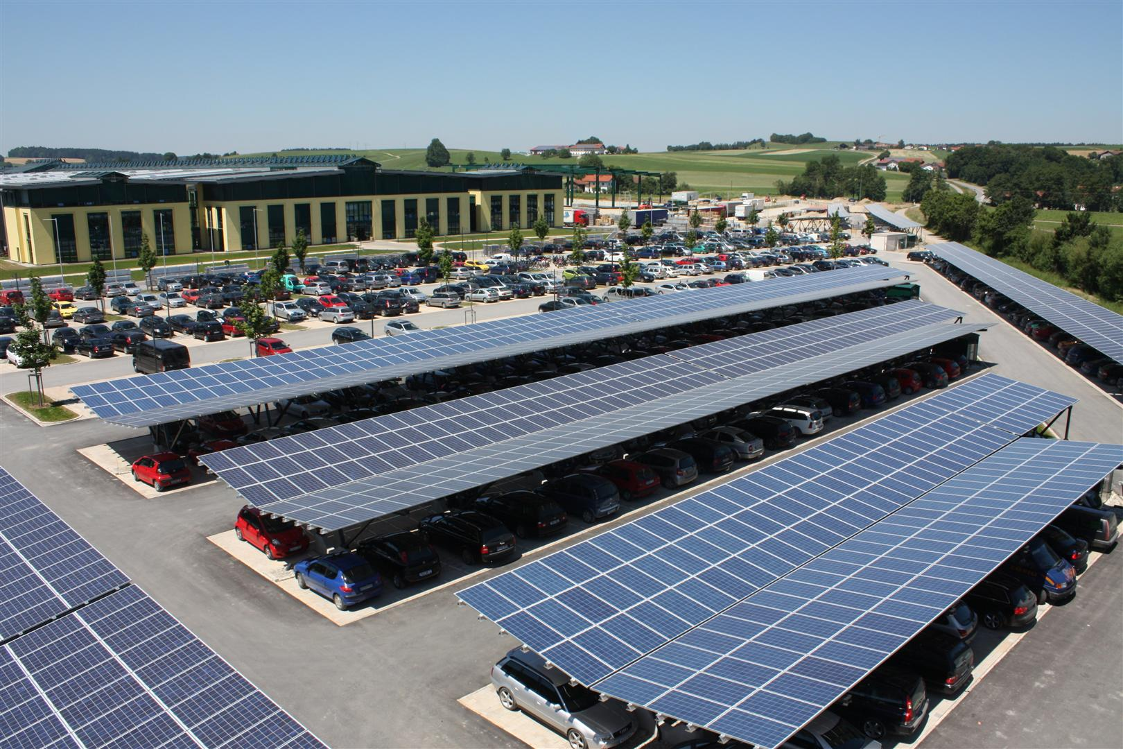Photo Of The Week Solar Panel Parking The Shift